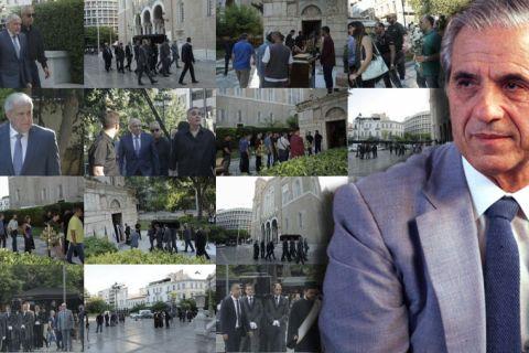 """Το τελευταίο """"αντίο"""" στον Παύλο Γιαννακόπουλο"""