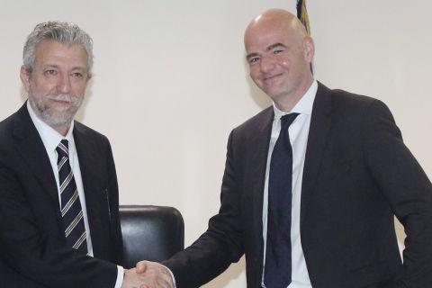 Στις 30 Μαρτίου η συνάντηση Κοντονή με FIFA και UEFA