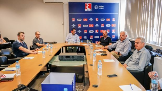 Basket League: Συναντήθηκε η Υγειονομική Επιτροπή με τους γιατρούς των ομάδων