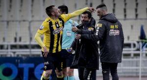 ΑΕΚ – Λαμία 2-0: Το γκολ του Κρίστιτσιτς στις καθυστερήσεις