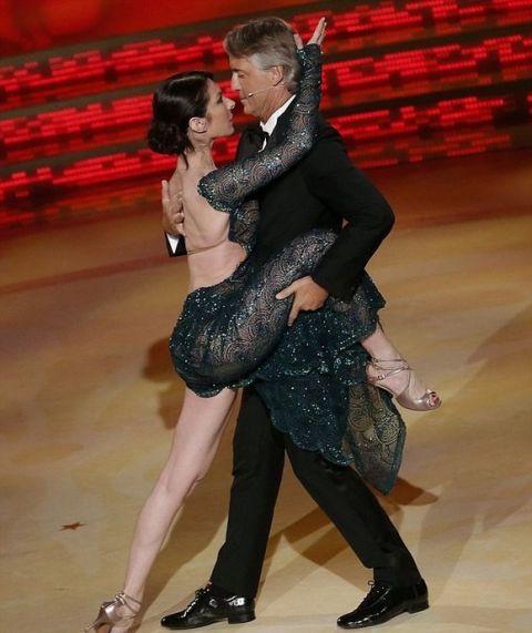 Χορευτής ο Ρομπέρτο Μαντσίνι!