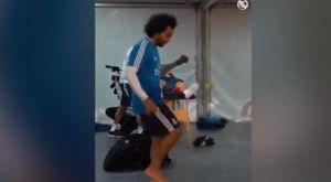 """Ο Μαρσέλο κάνει """"γκελάκια"""" με μπαλάκι του τένις"""