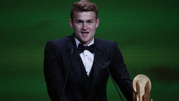 Χρυσή μπάλα 2019: Καλύτερος νέος παίκτης ο Ντε Λιχτ