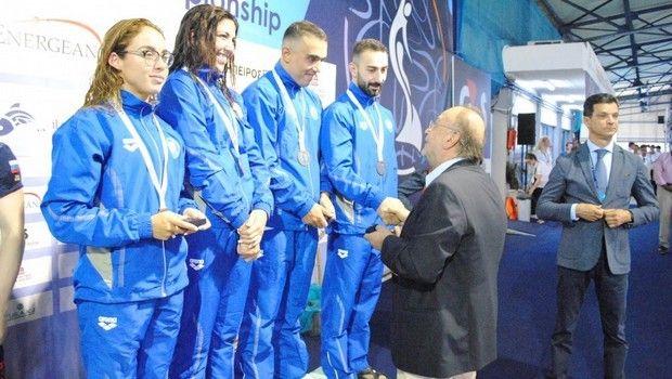 Τεχνική κολύμβηση: Χάλκινο μετάλλιο στα 4Χ100