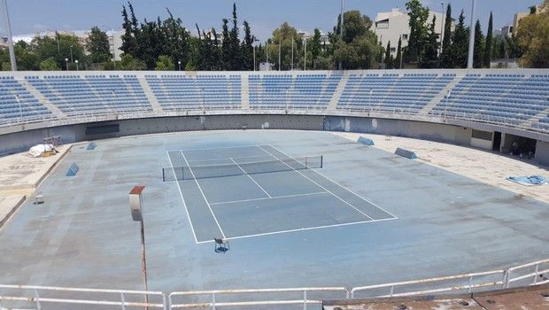 Σε πλήρη εξέλιξη οι εργασίες αναβάθμισης και αξιοποίησης των εγκαταστάσεων τένις