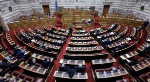 LIVE από τη Βουλή η συζήτηση για την τροπολογία Αυγενάκη
