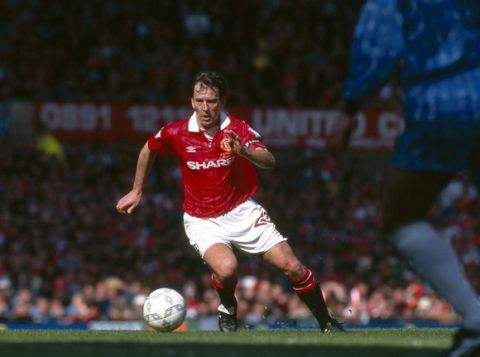 08 May 1994 FA premiership - Manchester United v Coventry CityBryan Robson (United)