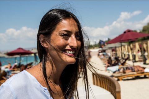 Η Ιβάνα Τζούριτς στη φωτογράφιση για τη συνέντευξη στο SPORT24