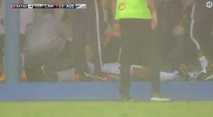Ποδοσφαιριστής χτυπήθηκε από κεραυνό, αλλά ευτυχώς σώθηκε