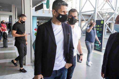 Έφτασε ο Ράζβαν Λουτσέσκου για λογαριασμό του ΠΑΟΚ