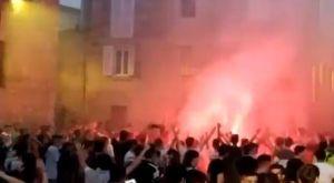 Μπασκόνια: Βγήκαν στους δρόμους οι φίλαθλοι πανηγυρίζοντας το πρωτάθλημα