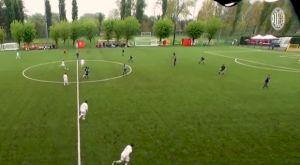 Μίλαν: Απίστευτο γκολ σε αγώνα της Κ-15 με σουτ πίσω από τη σέντρα