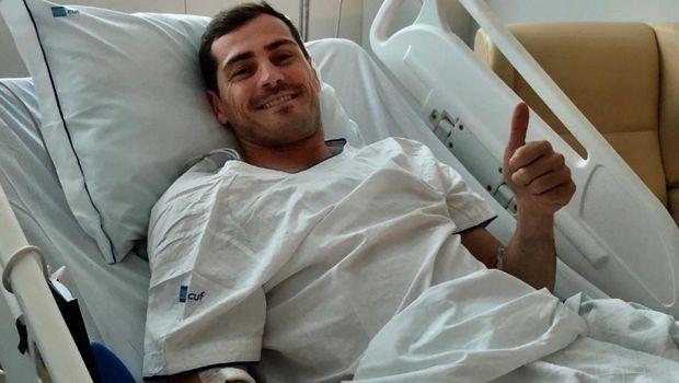 Ικερ Κασίγιας: Η πρώτη φωτογραφία από το νοσοκομείο