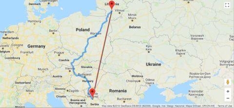 Με αεροπλάνα, τρένα και λεωφορεία στο Βελιγράδι οι φίλοι της Ζάλγκιρις