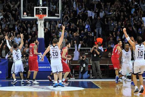 Εφές - Ολυμπιακός 74-73