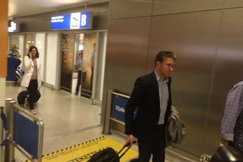 Έφτασε στην Αθήνα για την ΑΕΚ ο Μοντανιέ