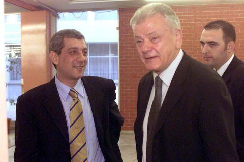 Ο Βασίλης Σκουντής με τον Ντούσαν Ίβκοβιτς