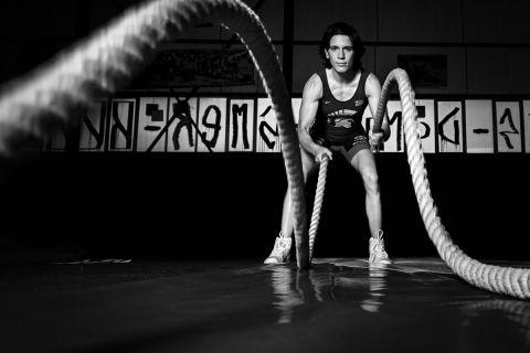 Η Μαρία Πρεβολαράκη σε φωτογράφιση για το SPORT24
