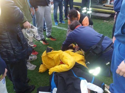 Οπαδός έστειλε στο νοσοκομείο ποδοσφαιριστή στη Φθιώτιδα