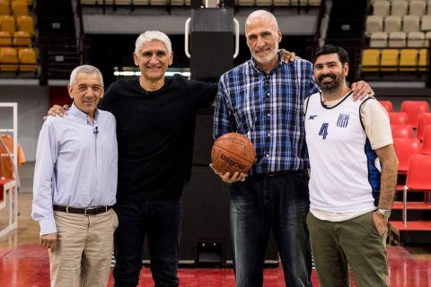 Οι Γιαννάκης, Καμπούρης, Βλαχόπουλος, Σκουντής στην επετειακή εκπομπή του SPORT24 για τα 34 χρόνια από το Eurobasket 1987