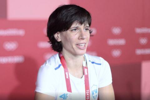 Η Μαρία Πρεβολαράκη στην κάμερα του Sportsfeed.gr