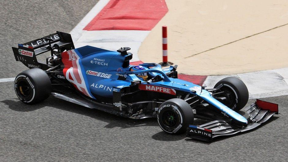 Fernando Alonso (ESP) Alpine F1 Team A521. Formula One Testing, Saturday 13th March 2021. Sakhir, Bahrain.