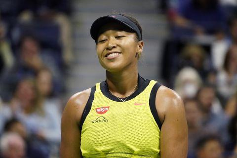 Η Ναόμι Οσάκα στο US Open