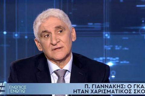 """Ο Παναγιώτης Γιαννάκης στην εκπομπή """"Ενώπιος Ενωπίω"""" με τον Νίκο Χατζηνικολάου"""