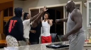 Ο'Νιλ: Το έριξε στον χορό με τους γιους του