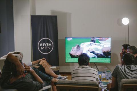 Τα νοκ άουτ ξεκινούν με ματσάρα και NIVEA MEN στο σπίτι της 24MEDIA