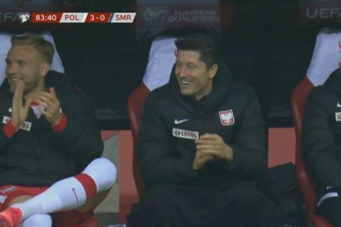 Ο Λεβαντόβσκι χειροκρότησε παίκτη του Σαν Μαρίνο που προσπάθησε να σκοράρει από το κέντρο