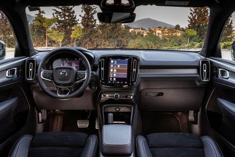 Οδηγούμε το πρώτο αμιγώς ηλεκτρικό Volvo στην Ελλάδα