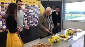 ΑΕΚ: Η κοπή της πίτας και οι ευχές του Μελισσανίδη
