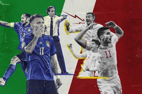 Euro 2020, Ιταλία - Ισπανία: Το στοιχείο που θα κρίνει τον ημιτελικό