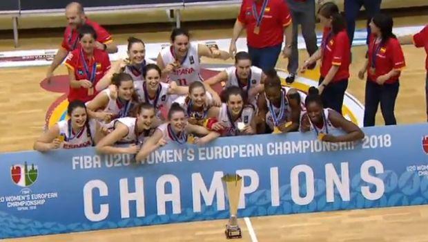 Πρωταθλήτρια Ευρώπης (ξανά) η Ισπανία στις Νέες Γυναίκες