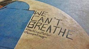 """Γιάννης Αντετοκούνμπο: Το """"We can't breathe"""" στο γήπεδο στα Σεπόλια"""
