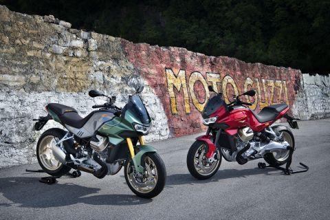 Νέα Moto Guzzi V100 Mandello και αναμορφωμένο εργοστάσιο