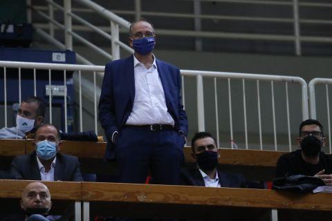 Παναθηναϊκός - Φενέρμπαχτσε: Στα επίσημα του ΟΑΚΑ ο Βαγγέλης Λιόλιος
