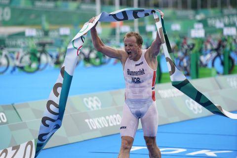 Ο Νορβηγός Κρίστιαν Μπλούμενφελτ ήταν ο μεγάλος νικητής στο τρίαθλο στους Ολυμπιακούς Αγώνες.