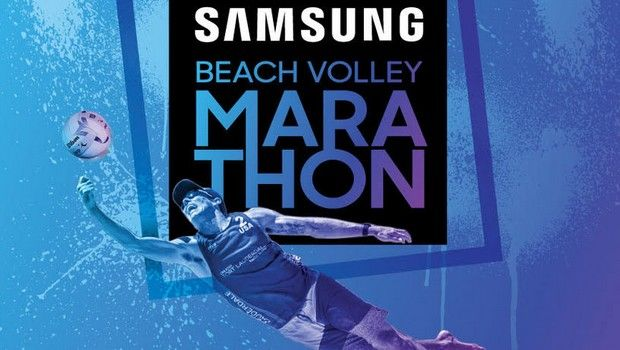 Grand finale για το SAMSUNG Beach Volley Marathon το Σαββατοκύριακο 8-9 ΙΟΥΝΙΟΥ 2019