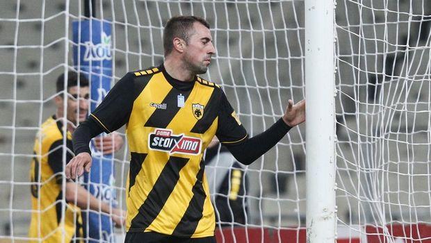 ΑΕΚ - Παναιτωλικός: Το 2-0 με τον Κρίστιτσιτς
