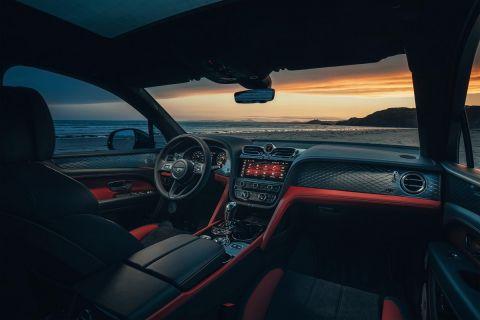 Το εσωτερικό της Bentley Bentayga