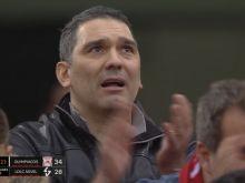 Ολυμπιακός: Ο πατέρας του Νικολαΐδη χειροκροτούσε βουρκωμένος τον γιο του