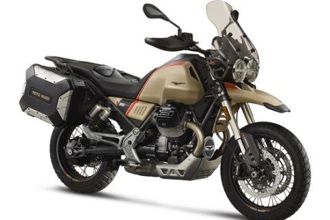 Ο τουρισμός ανοίγει με τη νέα Moto Guzzi V85 TT Travel