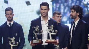 Ο Κριστιάνο Ρονάλντο πήγε στα βραβεία της Serie Α αντί για τη Χρυσή Μπάλα