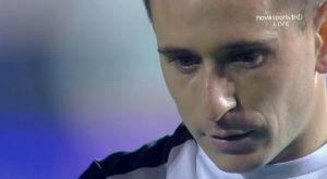 ΟΦΗ: Τα δάκρυα του Κουτσιανικούλη ενώ έκανε δηλώσεις στη Nova