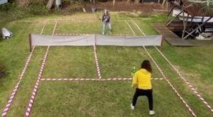 Κορονοϊος: Έφτιαξαν το πιο όμορφο γήπεδο τένις μέσα στην καραντίνα