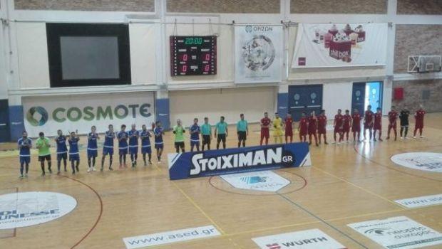 Futsal: Σούπερ ΑΕΚ και Παναθηναϊκός, γκέλα για Δούκα