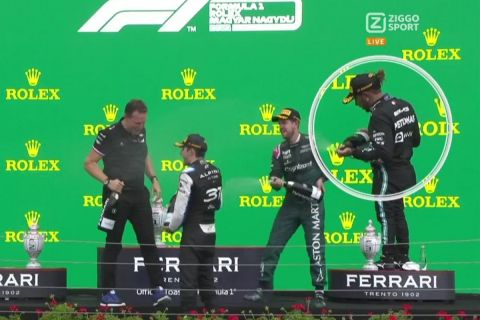 "Formula 1, Grand Prix Ουγγαρίας: Η εξήγηση του Χάμιλτον για την εικόνα του μετά από τον αγώνα: ""Παλεύω με τον εαυτό μου"""