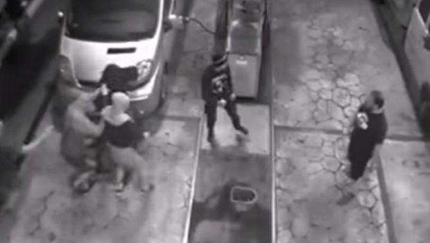 Άγρια επίθεση σε οπαδούς του ΠΑΟΚ σε βενζινάδικο στο Κίεβο